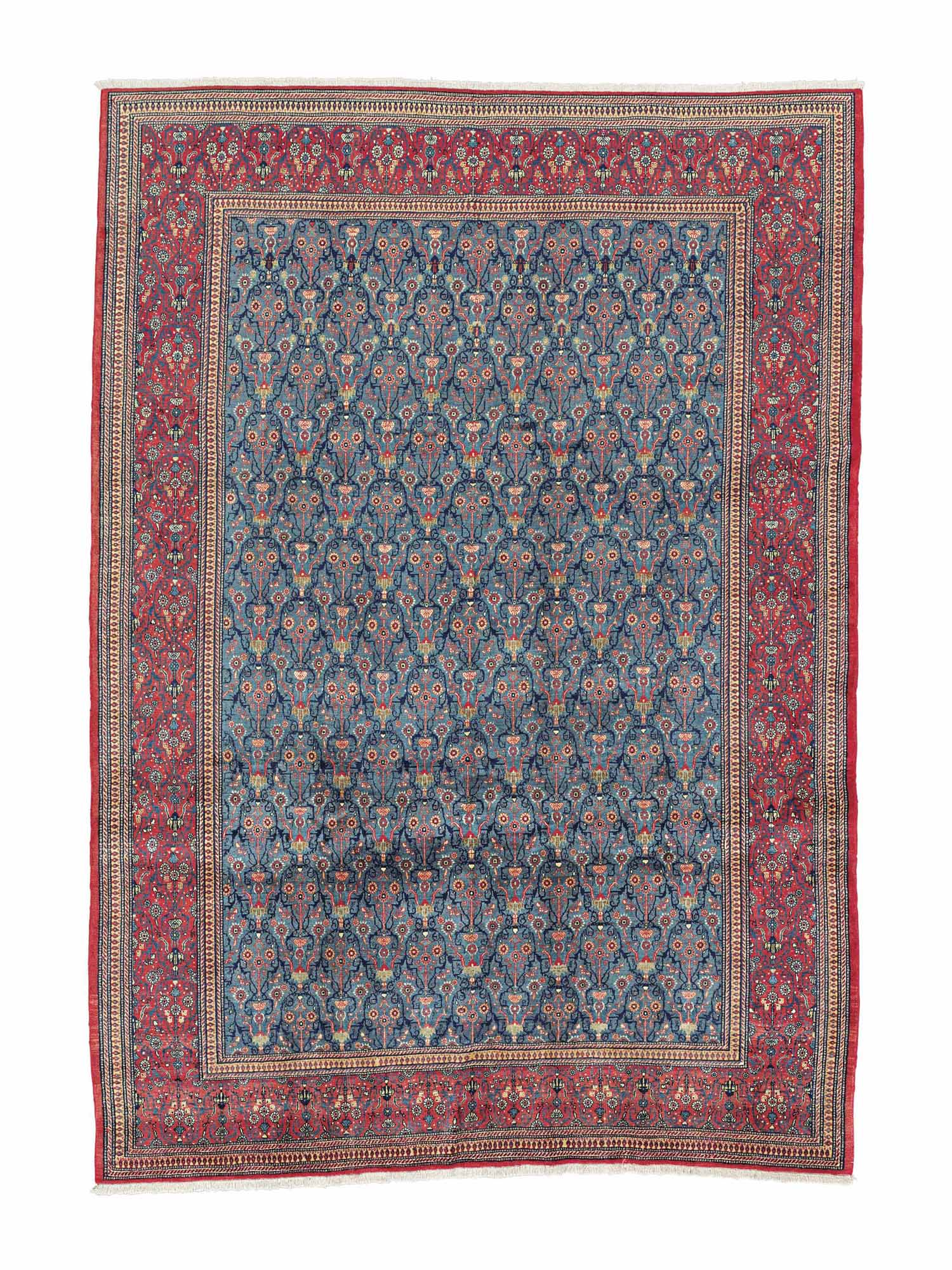 A FINE TEHERAN CARPET, NORTH P