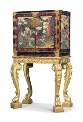 A CHINESE-EXPORT POLYCHROME AN