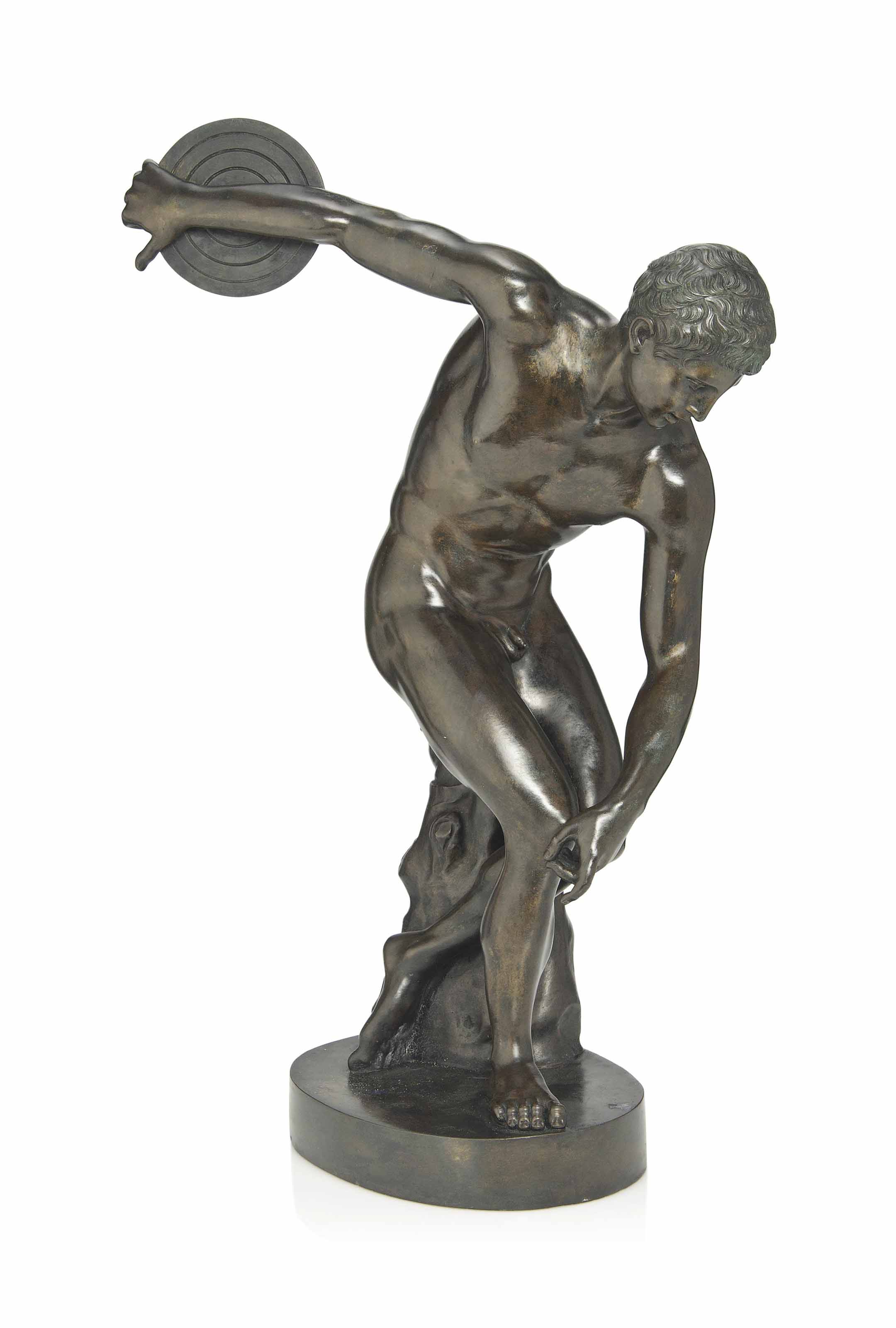 'THE DISCUS THROWER' AN ART DE