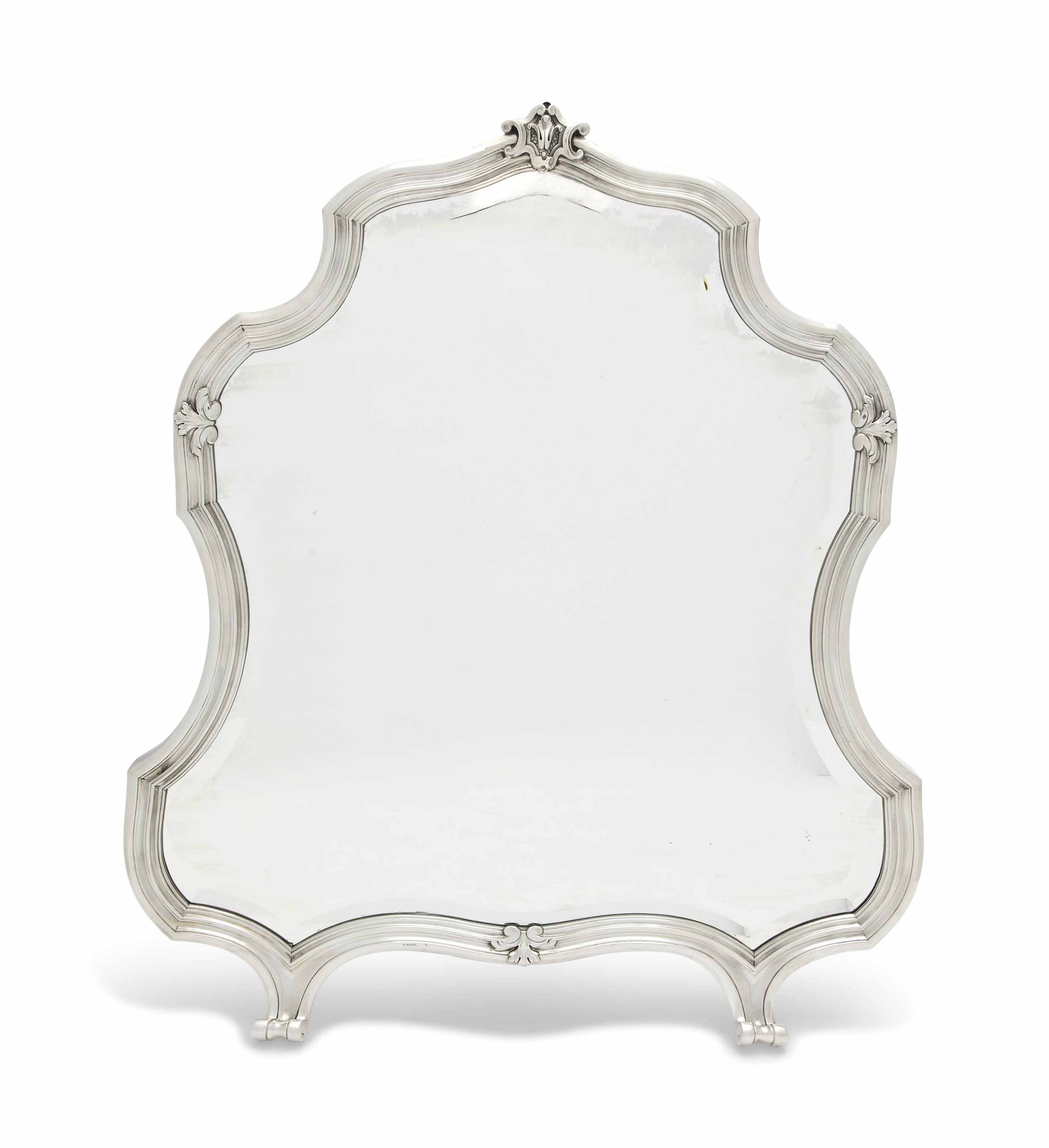 A FRENCH SILVER-MOUNTED DRESSI