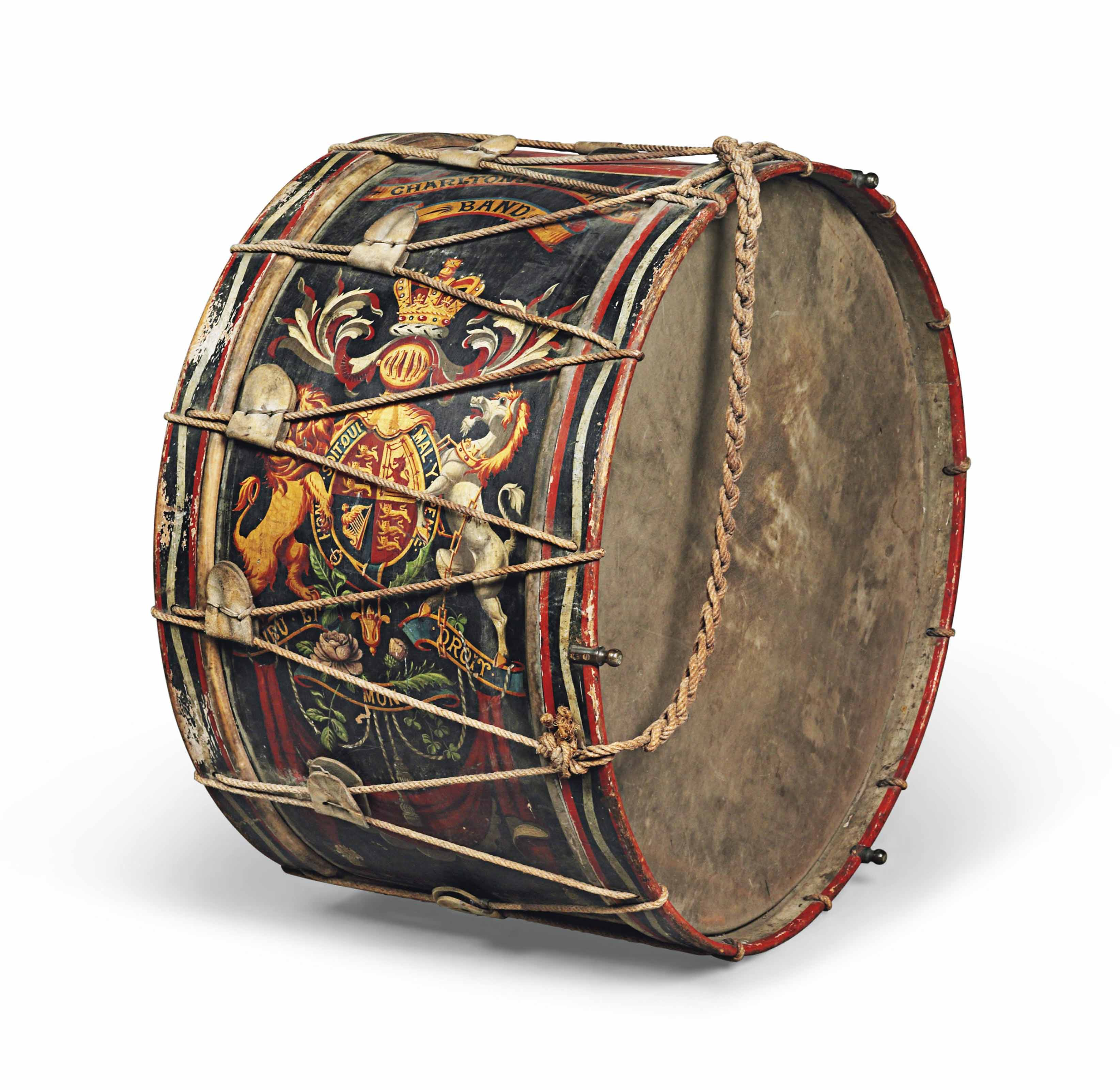 A PARADE DRUM FOR THE CHARLTON
