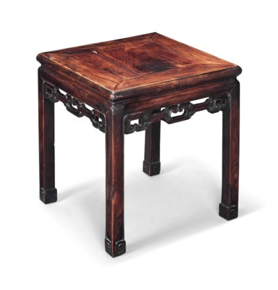 A CHINESE HONG MU LOW TABLE