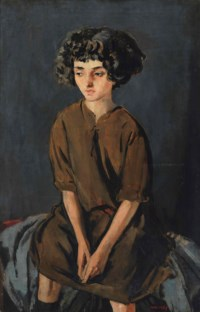 A young Moroccan girl