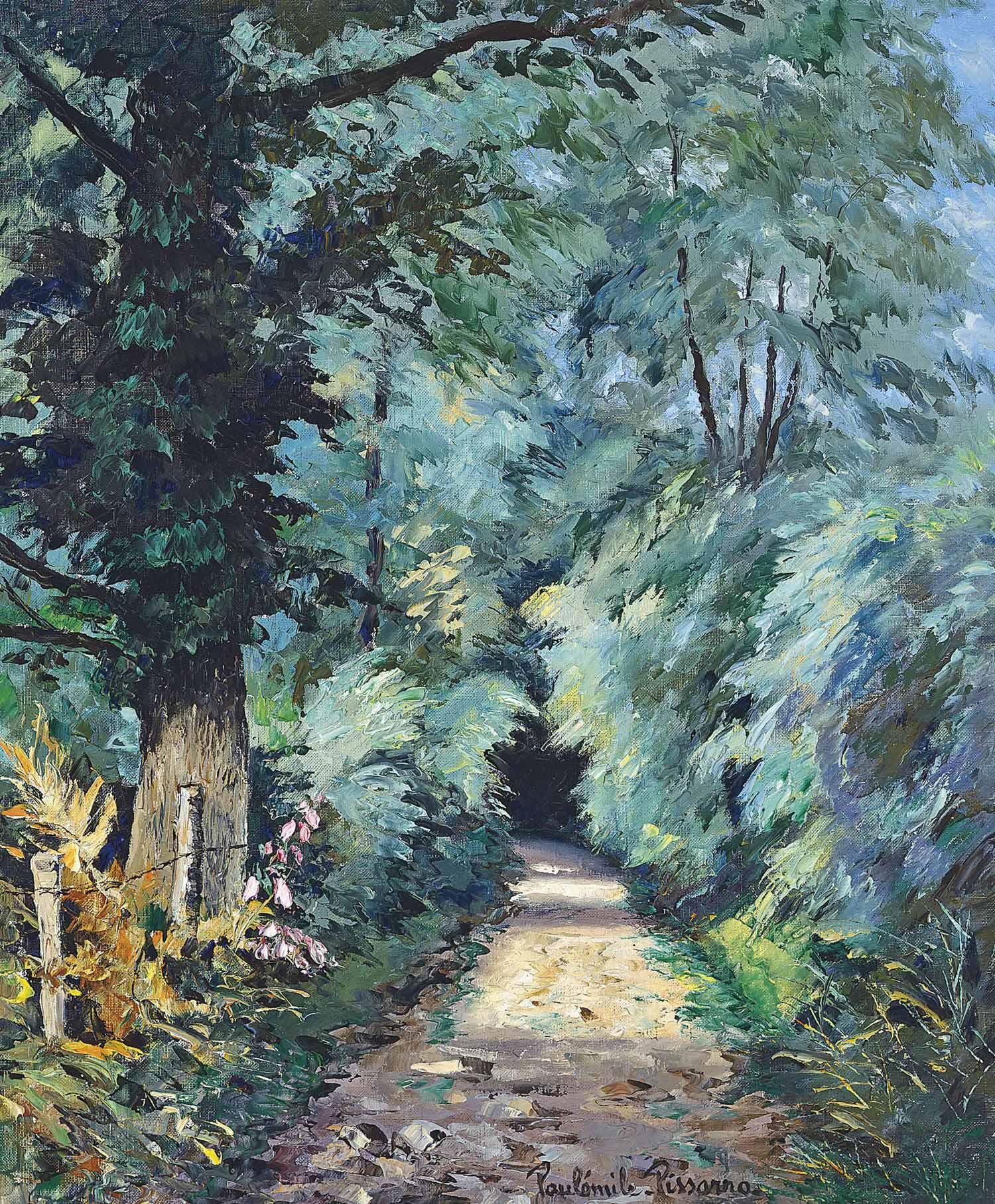 Chemin sous bois, Clécy