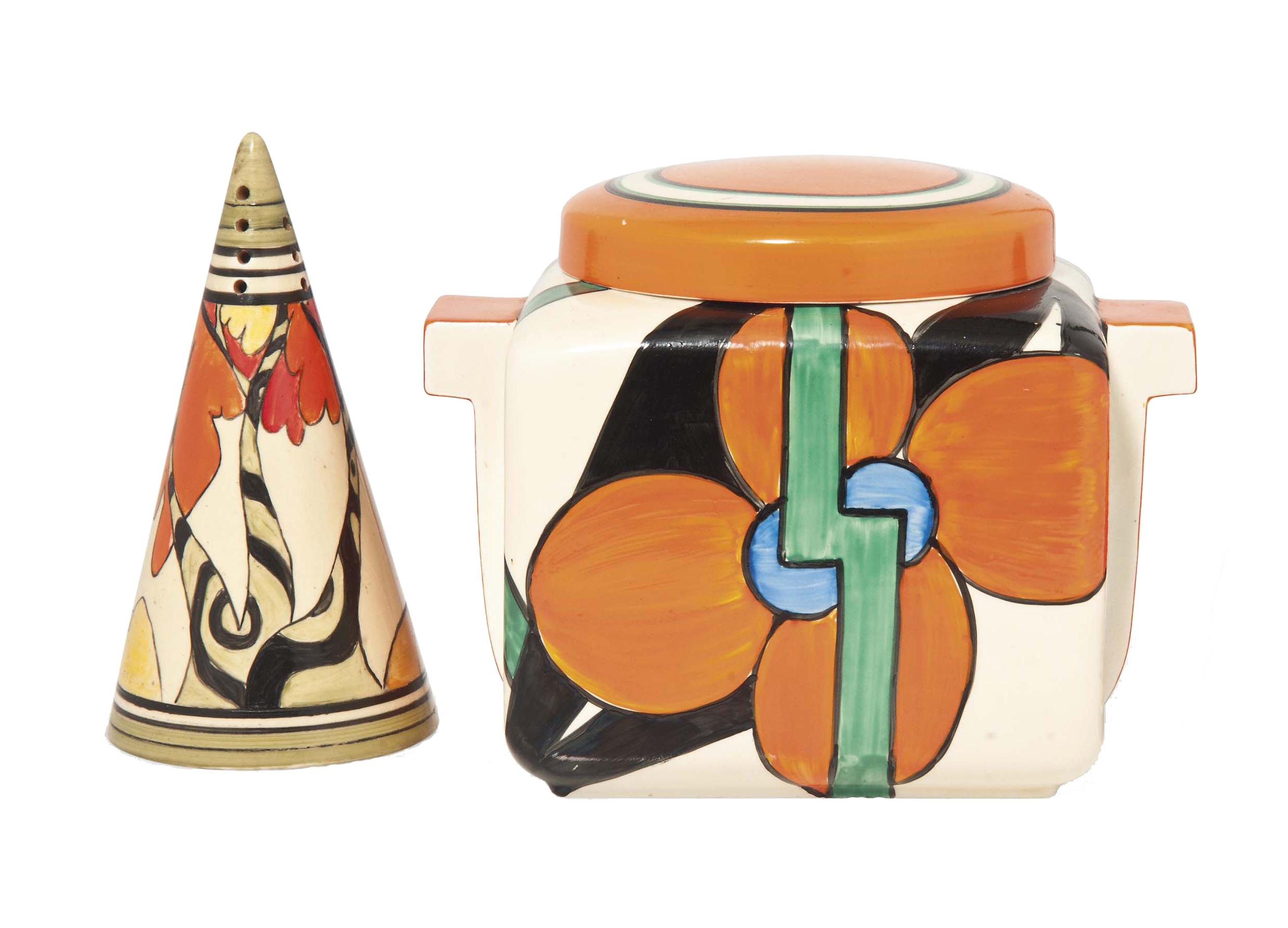 A CLARICE CLIFF (1899-1972) 'O