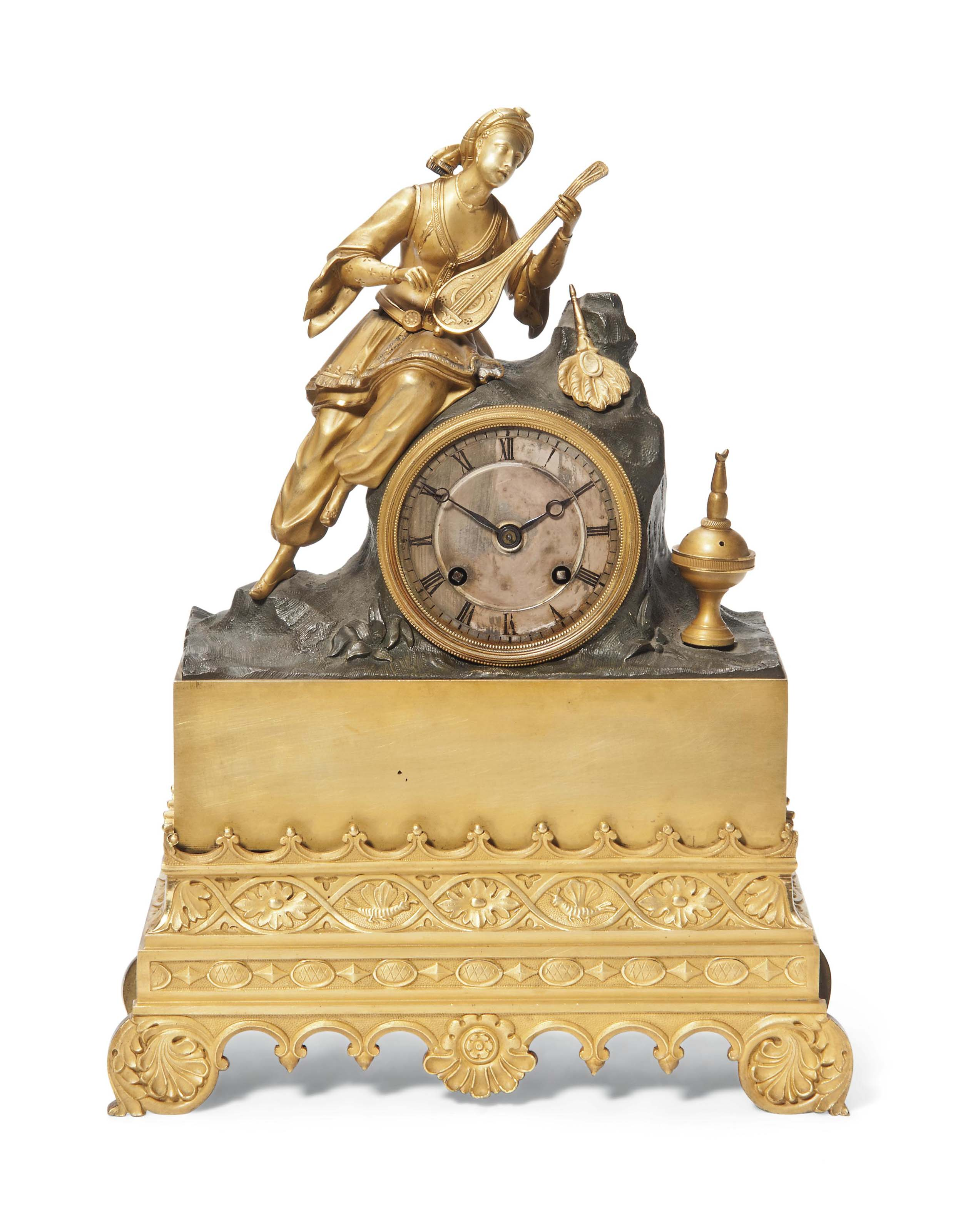 A LOUIS-PHILIPPE GILT AND PATI