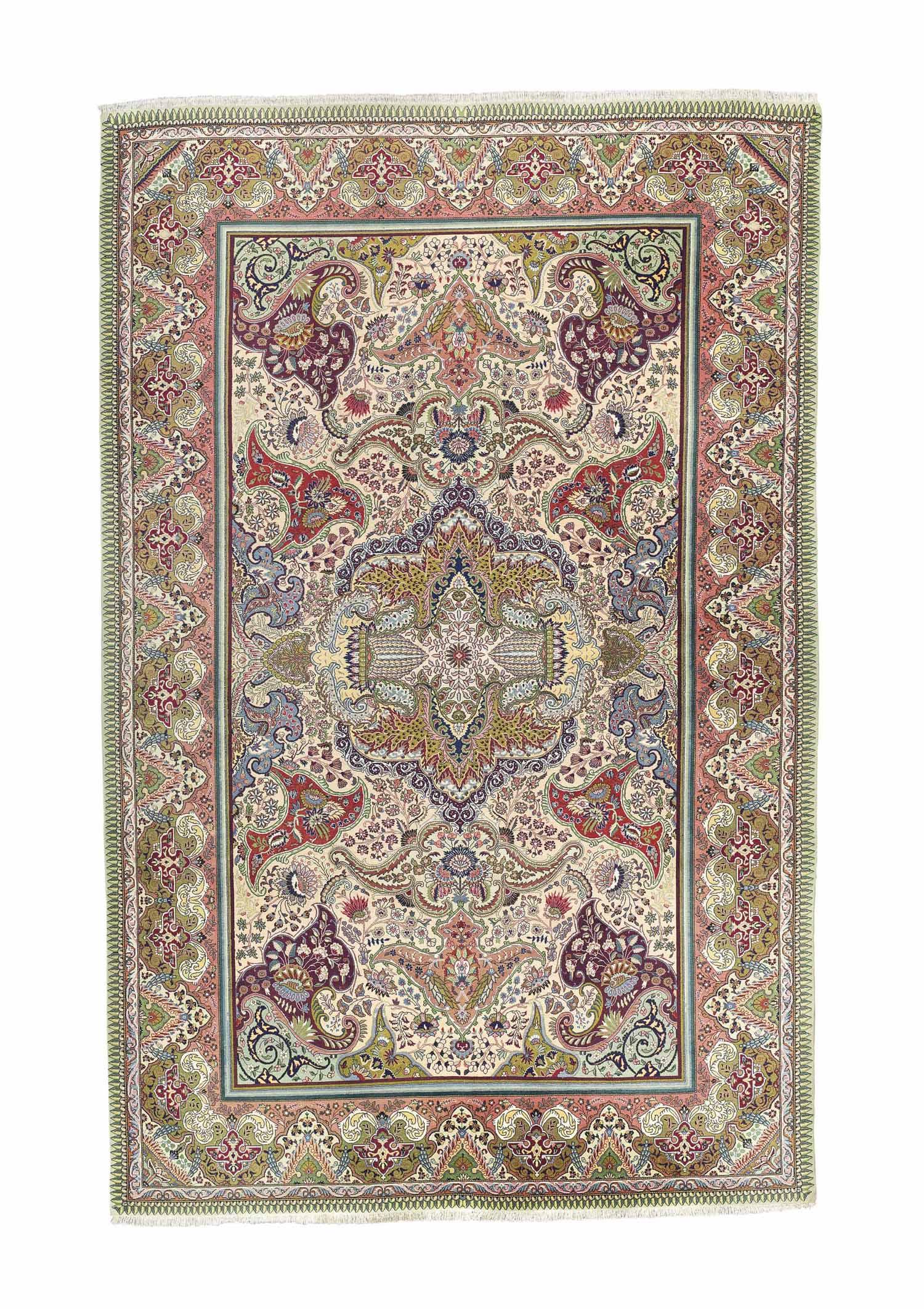 A very fine Tabriz carpet