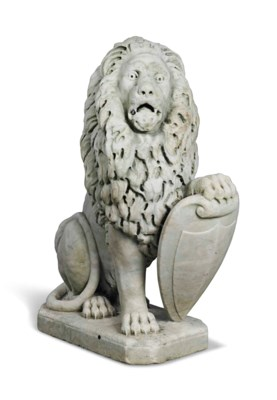 AN ITALIAN CARVED MARBLE MODEL