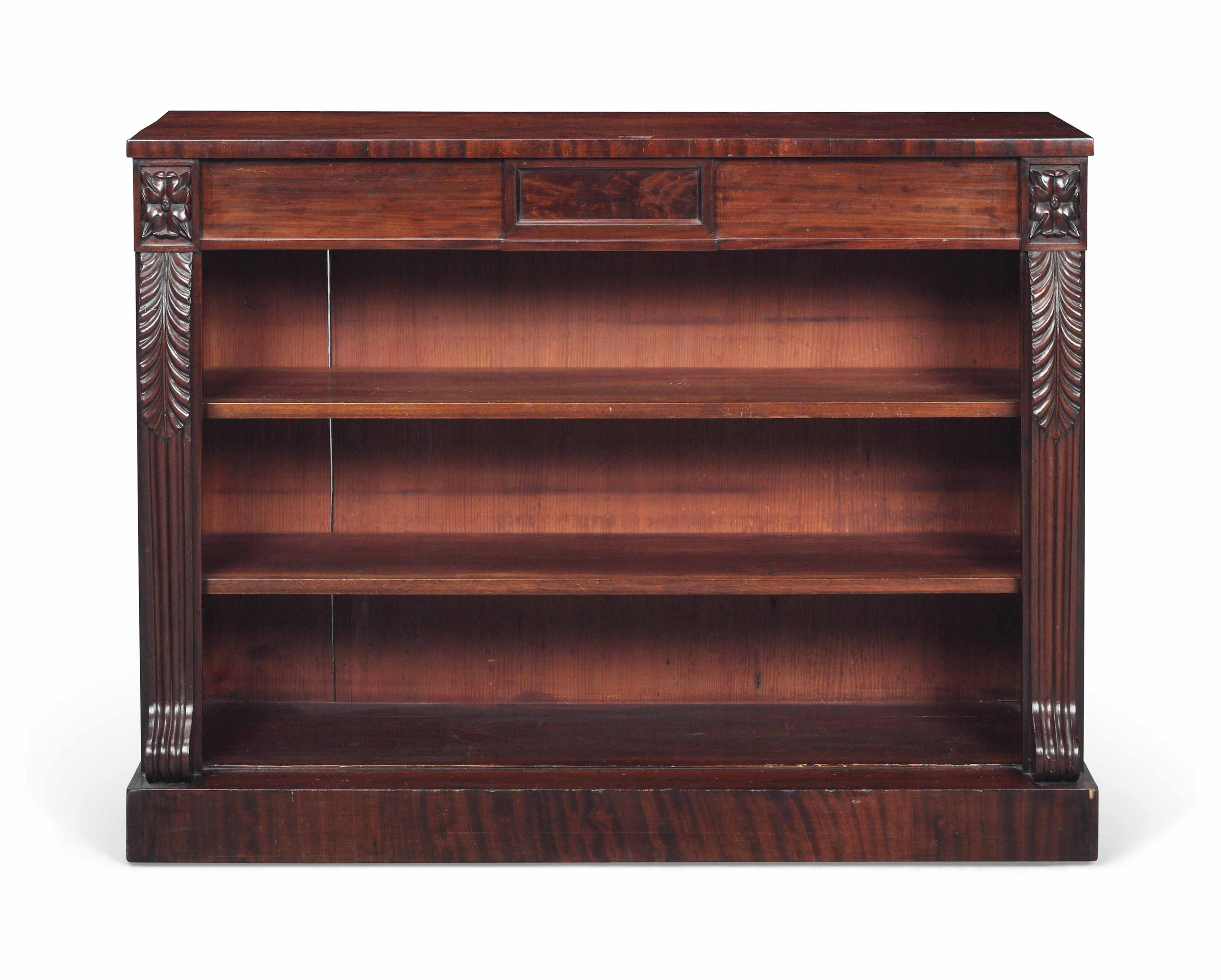 AN EARLY VICTORIAN MAHOGANY OP