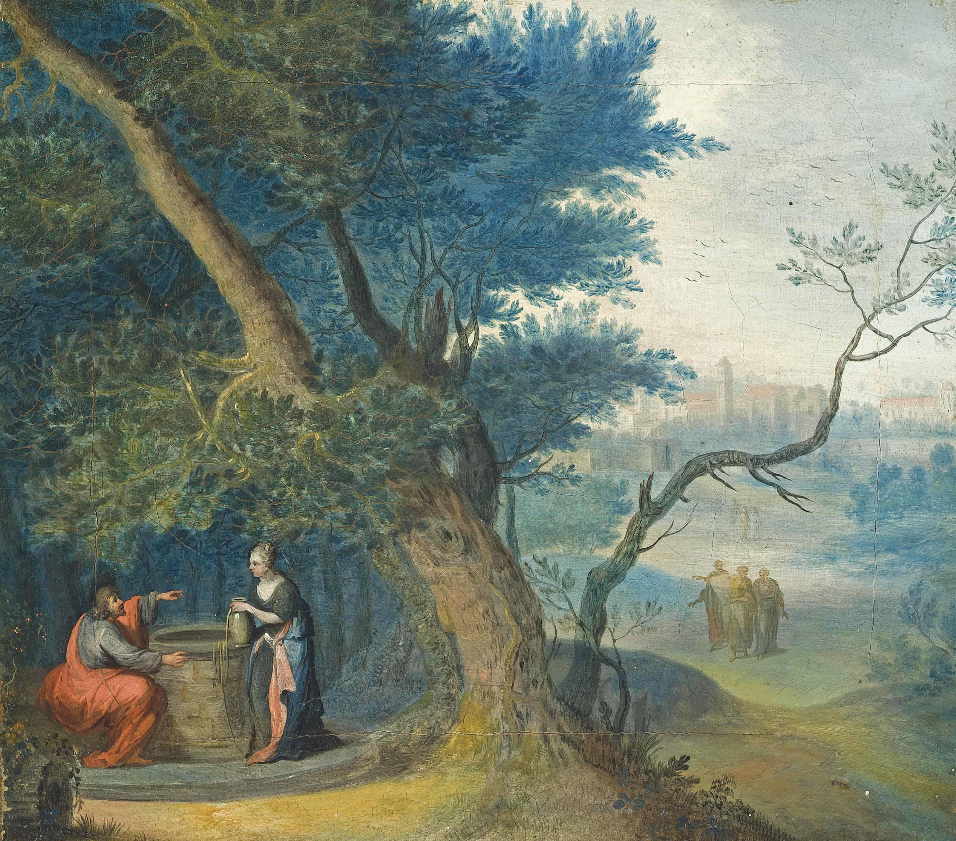 The Samaritan woman at the well