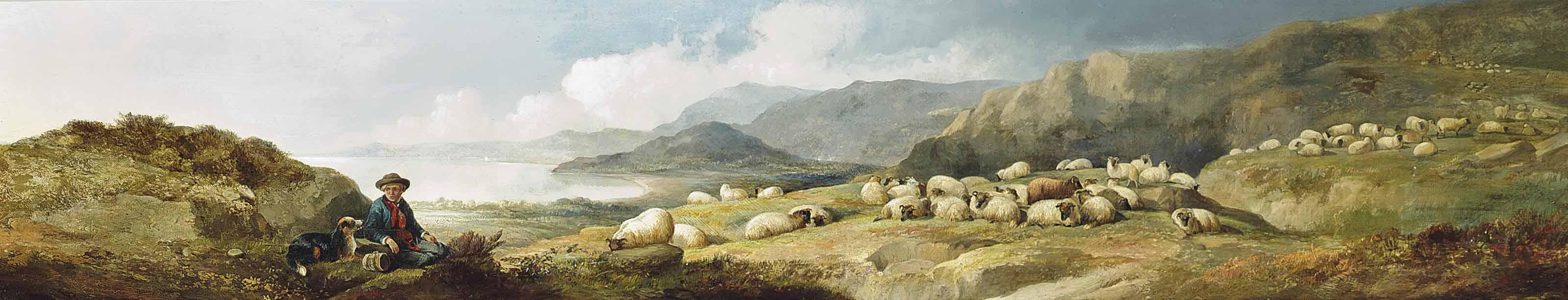 The resting shepherd