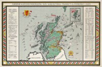 A MAP OF SCOTLAND