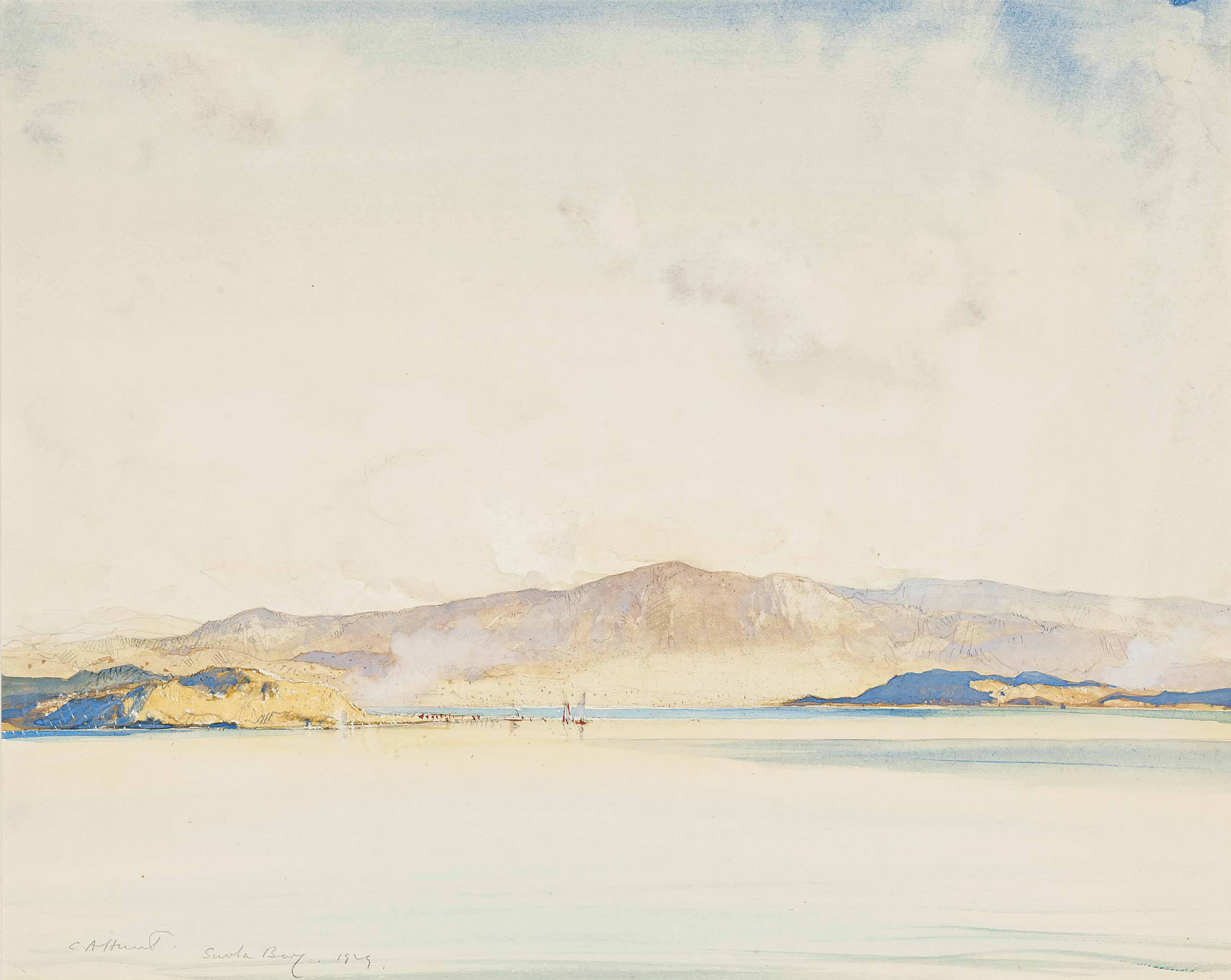 Cecil Arthur Hunt, R.W.S. (187