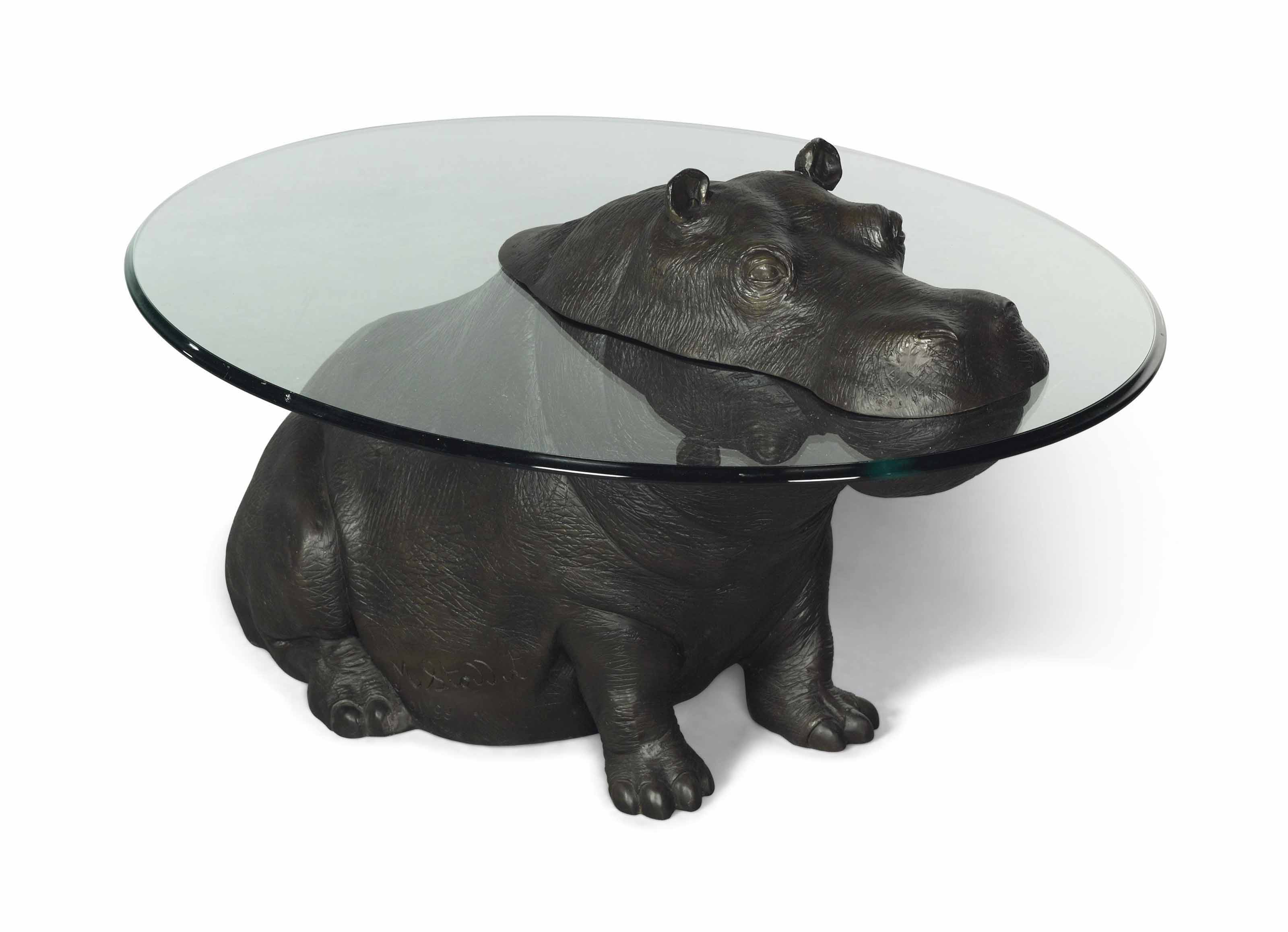 Mark Stoddart Cheeky Hippo Occasional Table 2001 Furniture