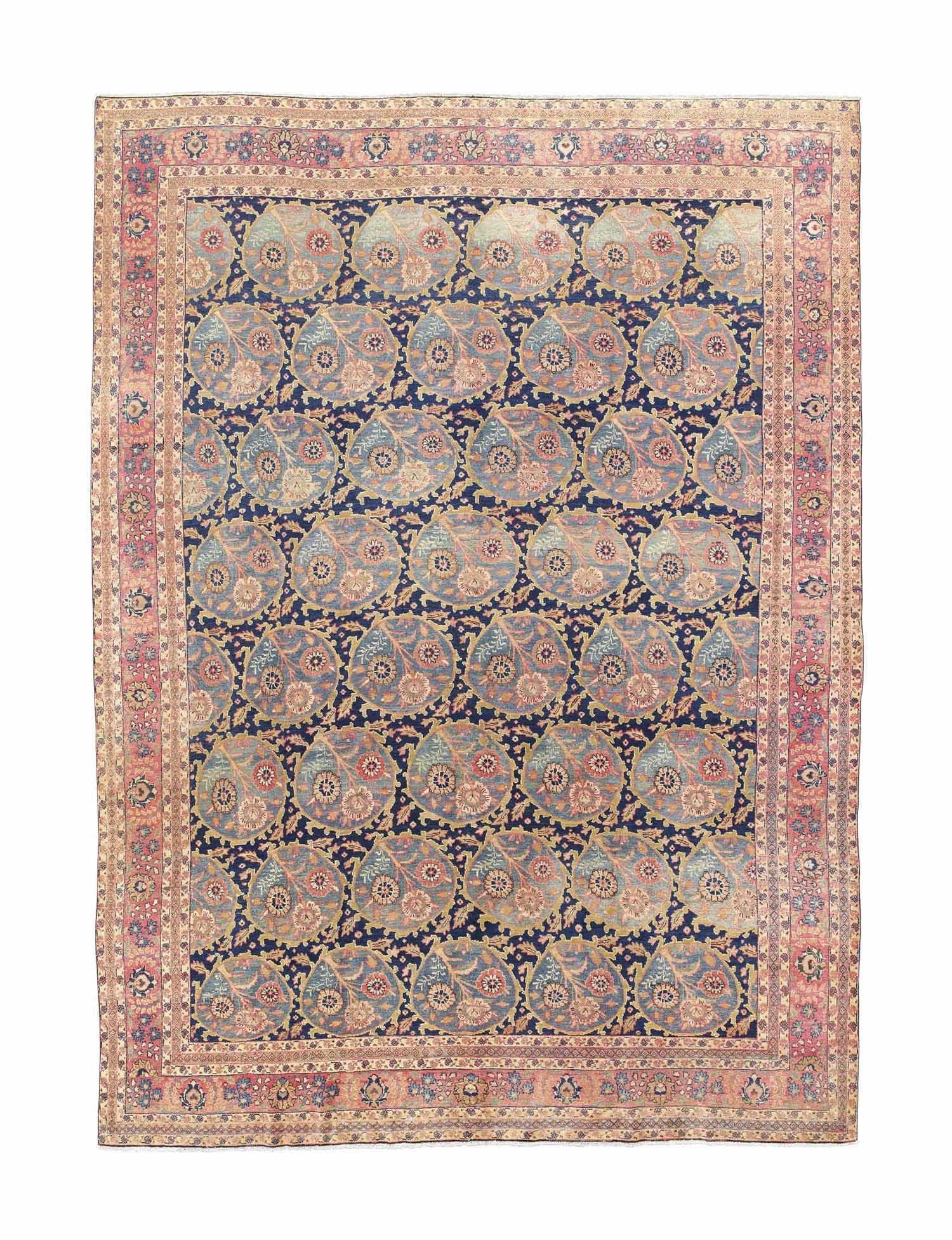 A fine Khoy Tabriz carpet