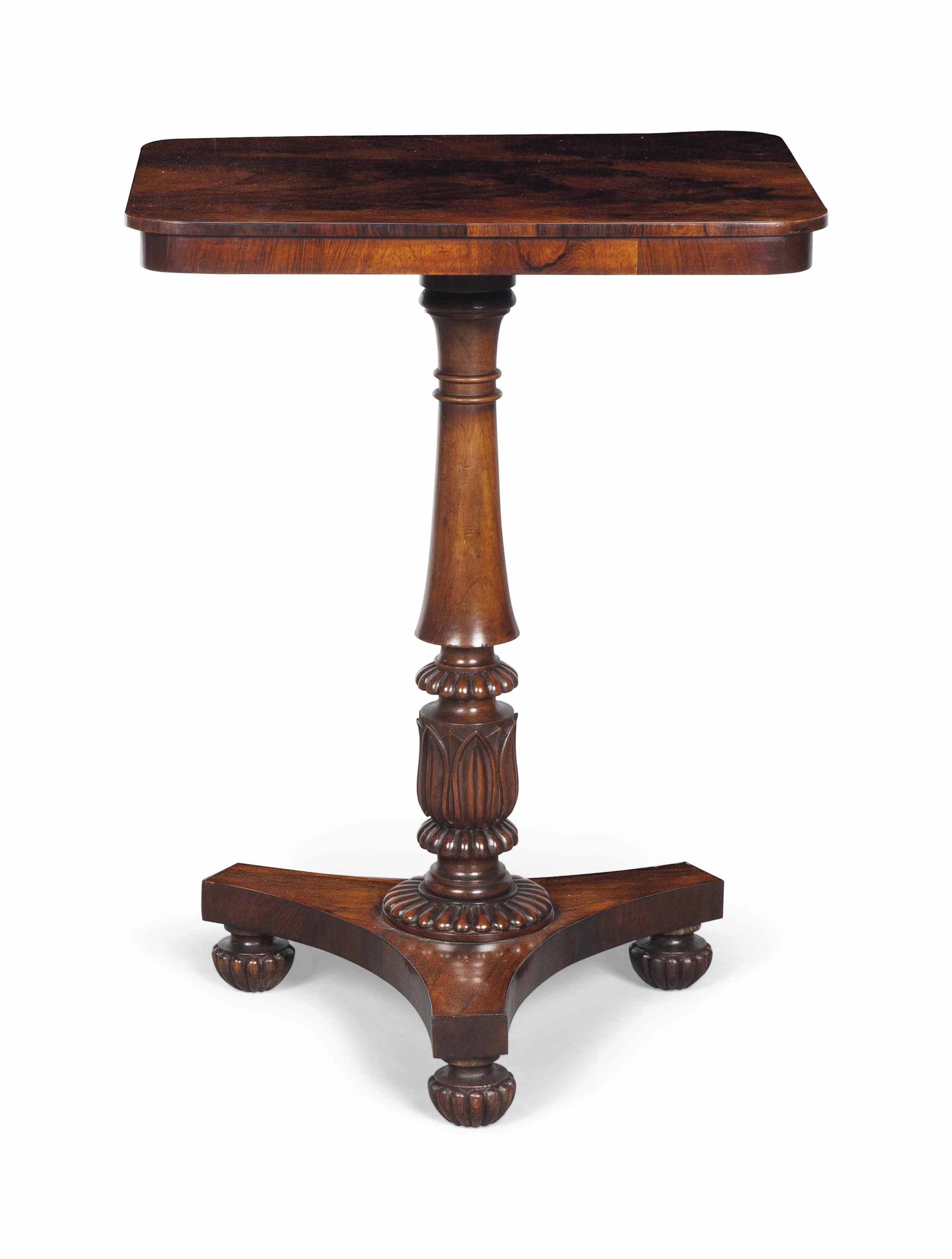 A GEORGE IV ROSEWOOD OCCASIONA