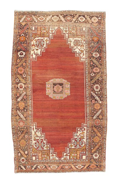 AN UNUSUAL HERIZ CARPET, NORTH