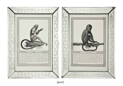 TWELVE ITALIAN ENGRAVINGS OF M