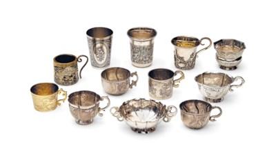 A GROUP OF SEVEN EIGHTEENTH CE