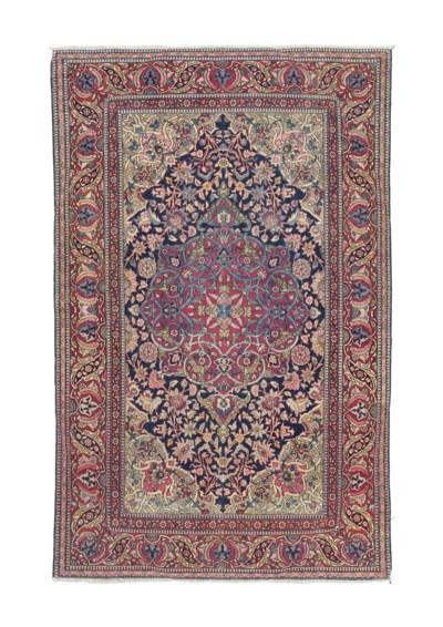 A very fine antique Isfahan ru