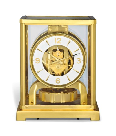 A SWISS GILT-BRASS ATMOS CLOCK