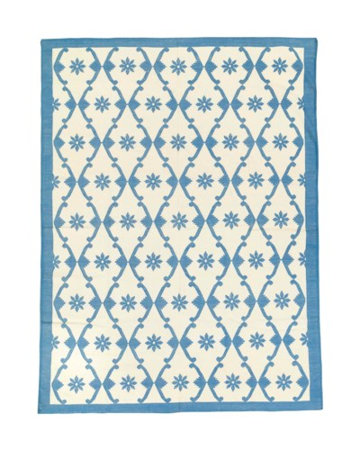 A fine Indian cotton Dhurrie