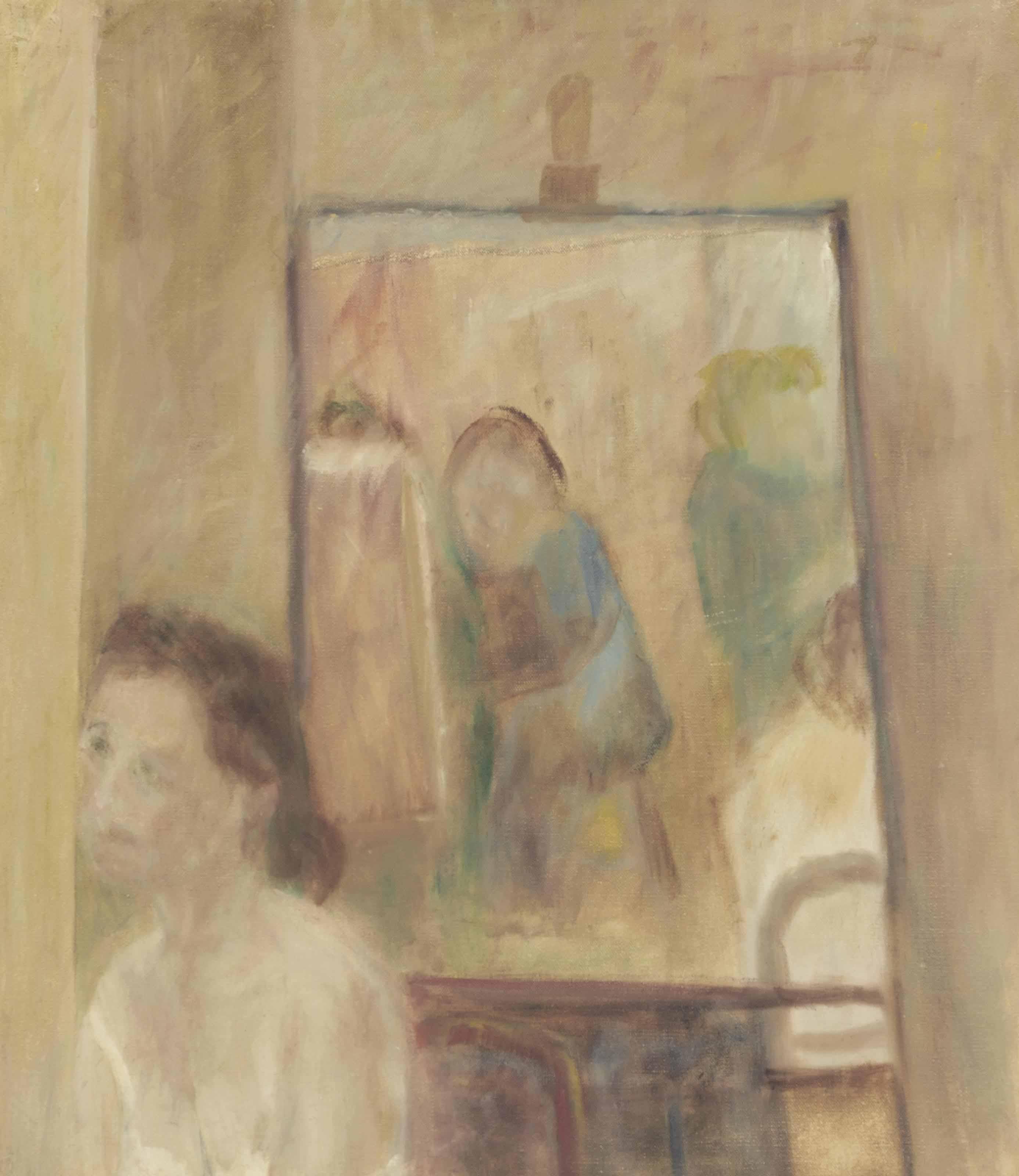 Interior at Euston Road School Studio, 1938