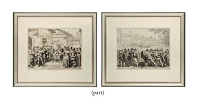 TWELVE ENGRAVINGS FROM BARTOLO