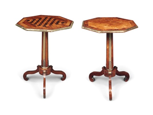 A MATCHED PAIR OF GEORGE IV IN