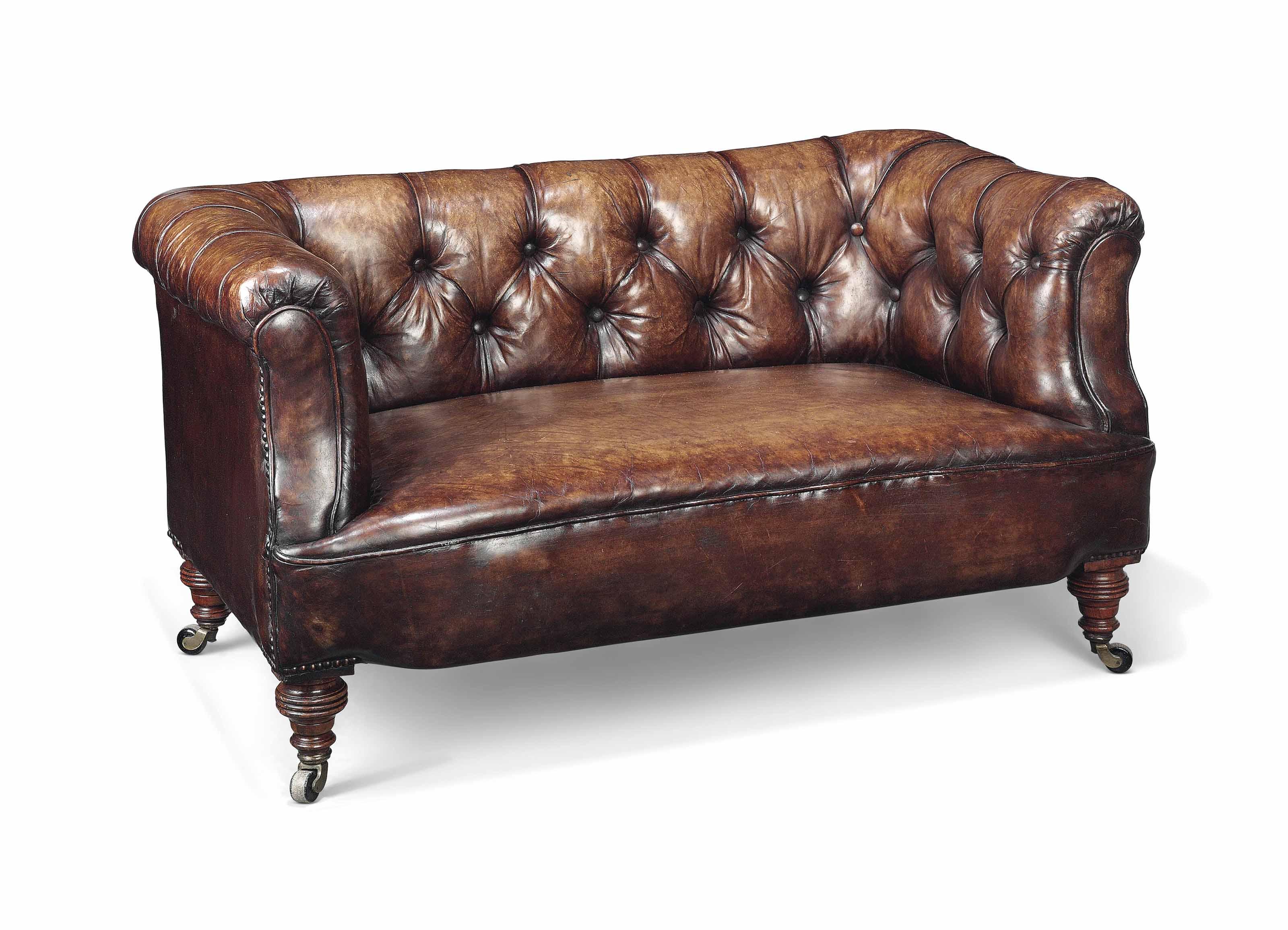 A Small Victorian Children S Chesterfield Sofa