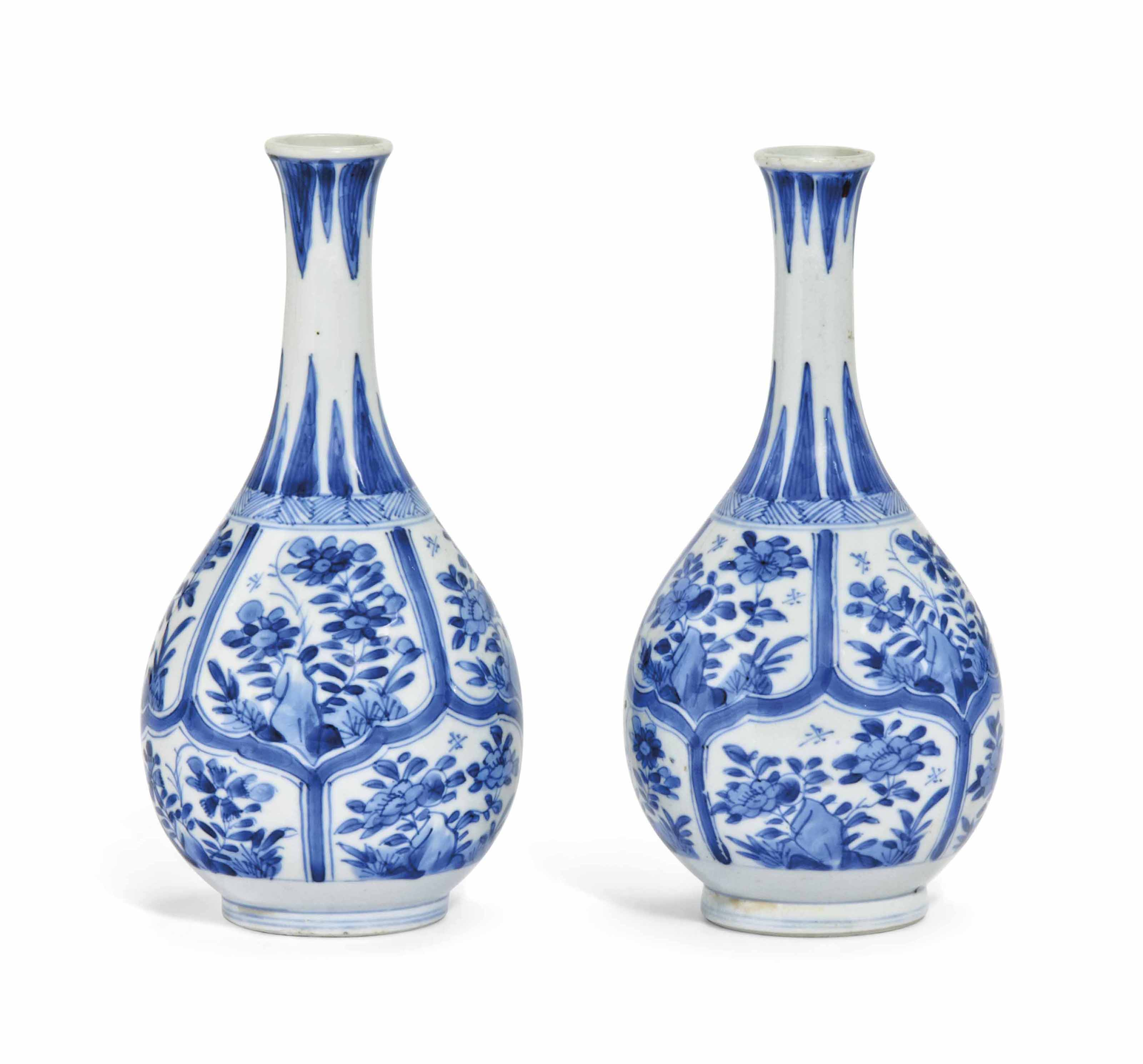 A MATCHED PAIR OF SMALL CHINES