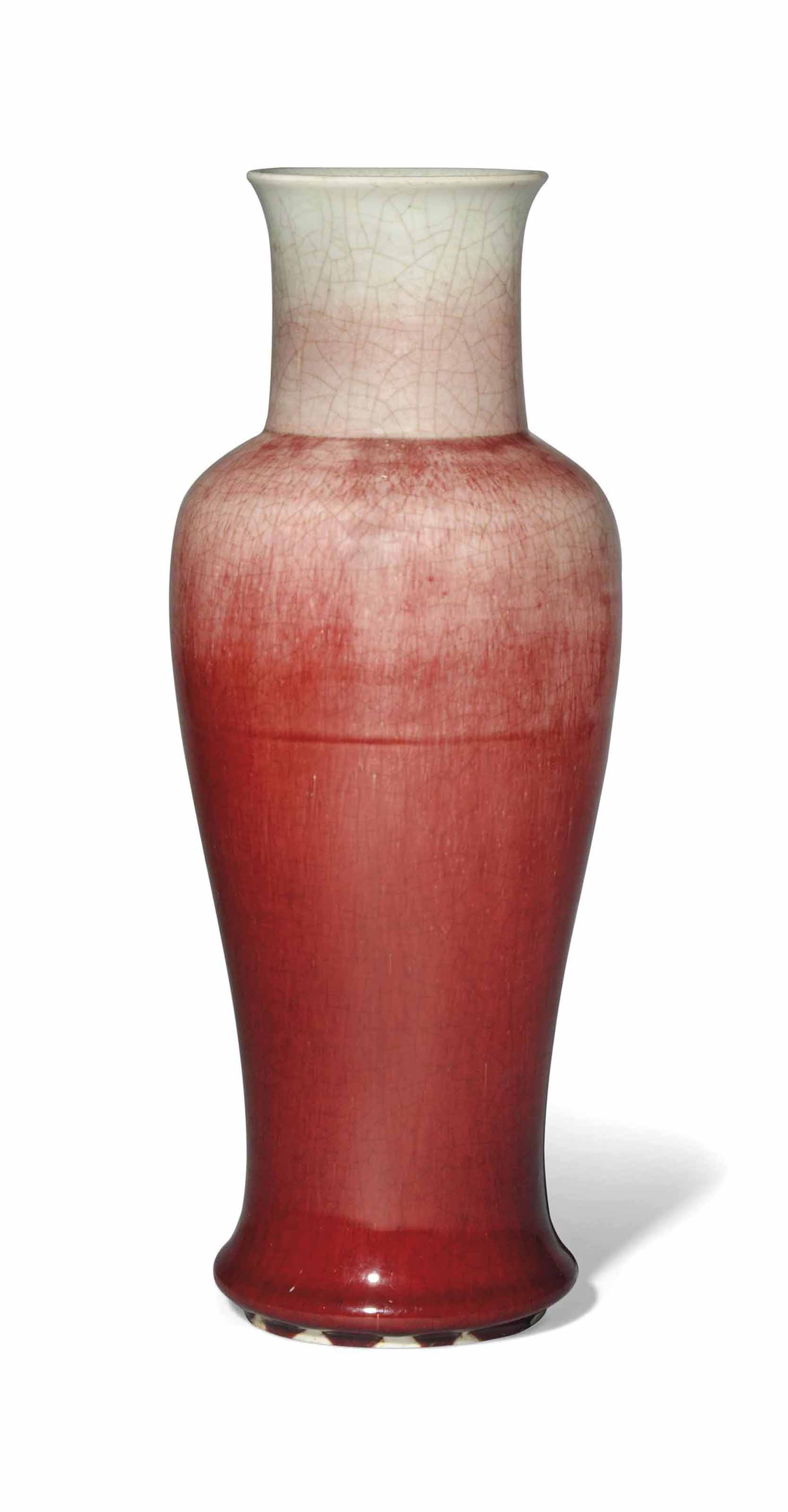 A CHINESE LANGYAO VASE