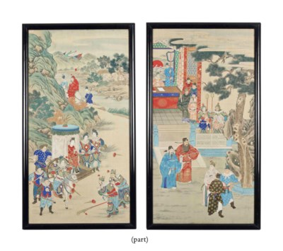 A SET OF FOUR CHINESE PAINTING