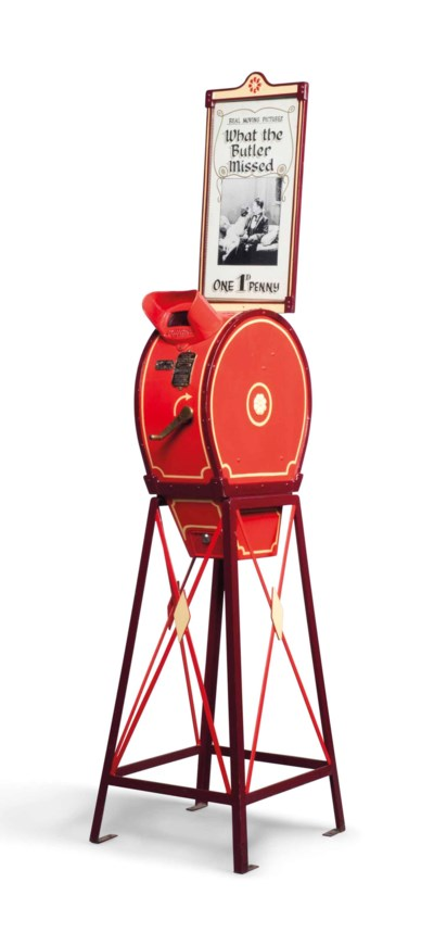 A NORTH AMERICAN MUTOSCOPE REE