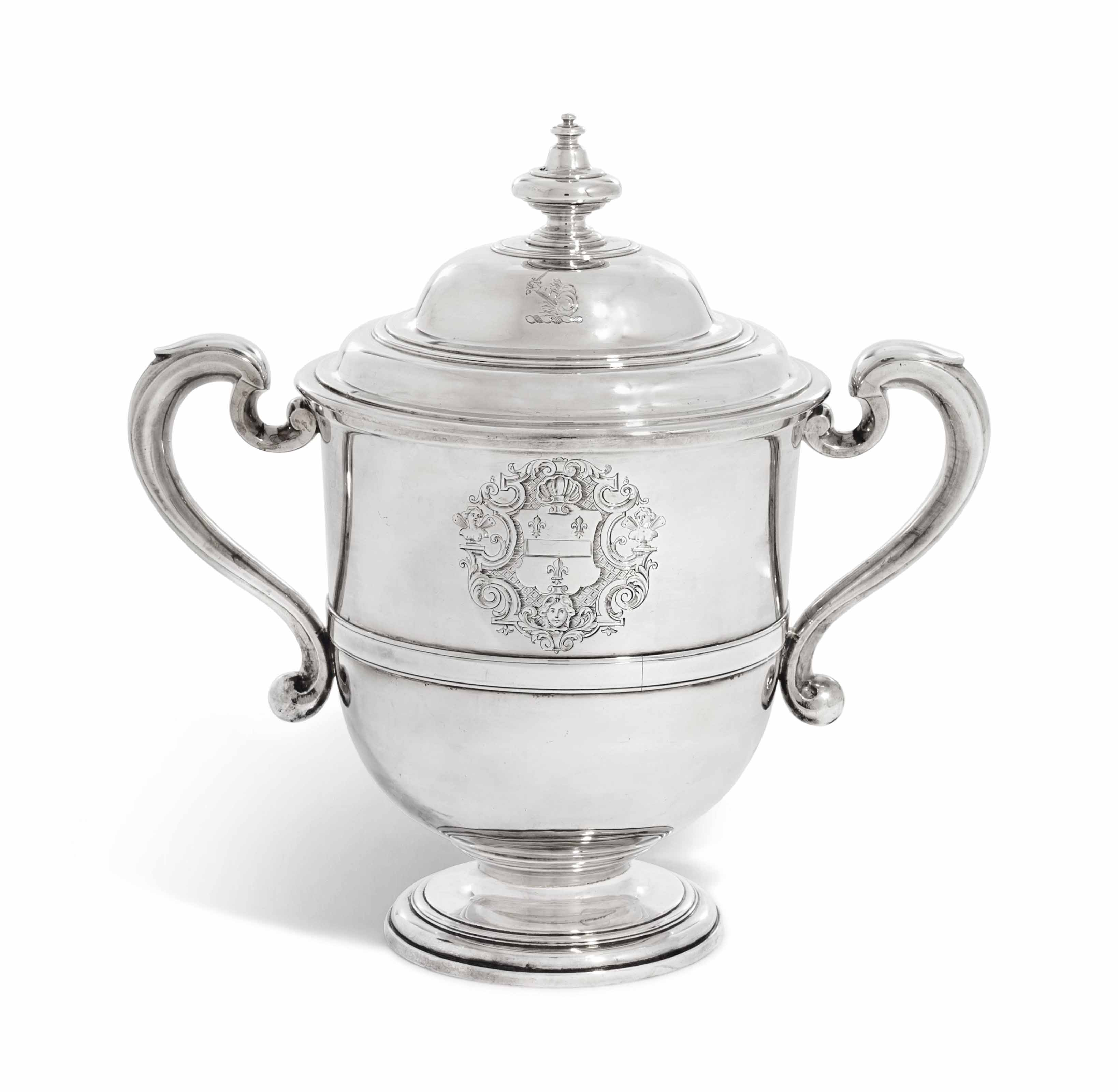 A QUEEN ANNE SILVER CUP AND CO