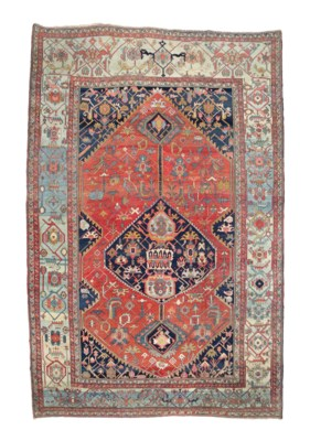 A LARGE HERIZ CARPET, NORTH-WE
