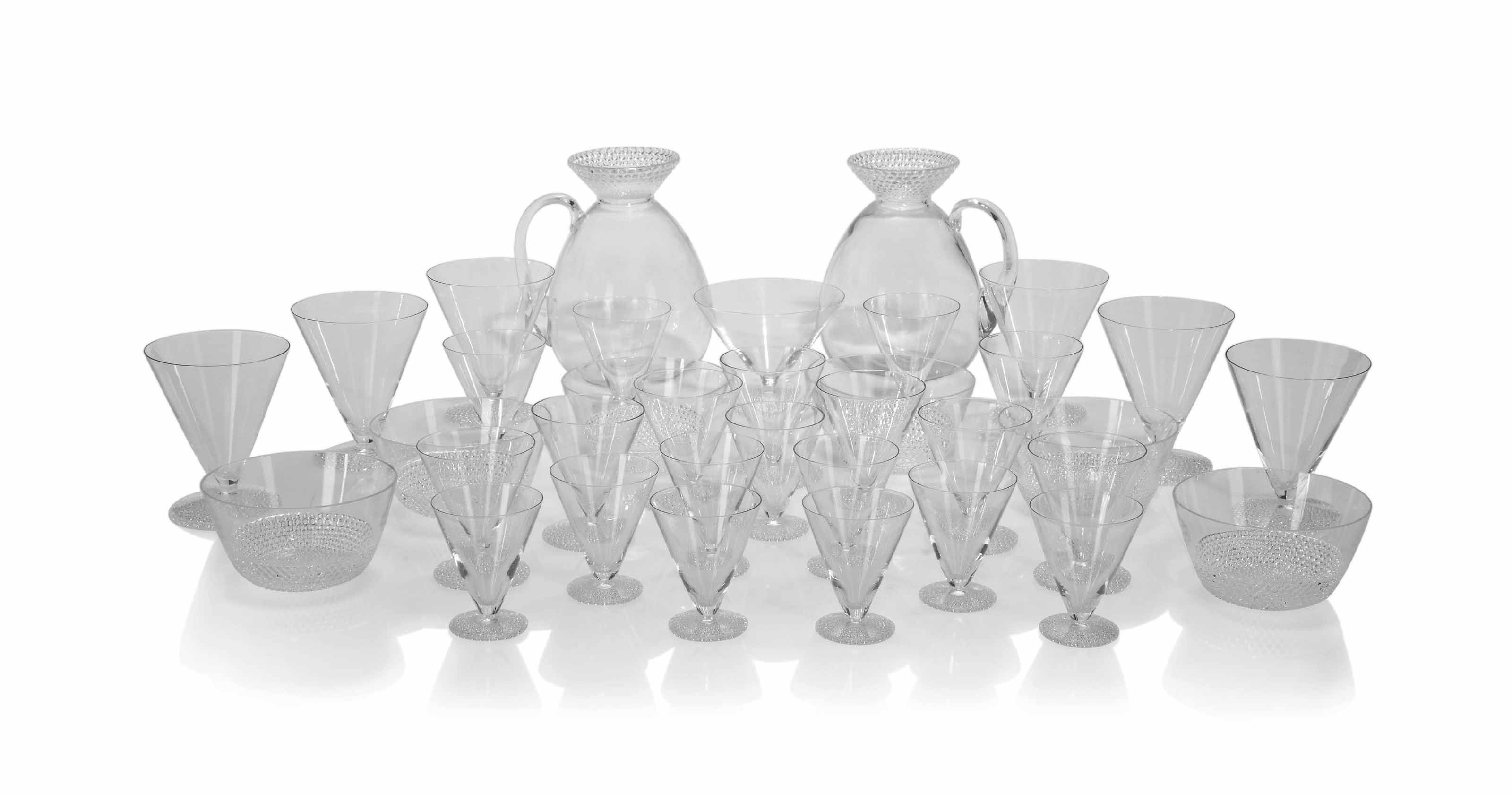 'TOKYO' A LALIQUE CLEAR GLASS