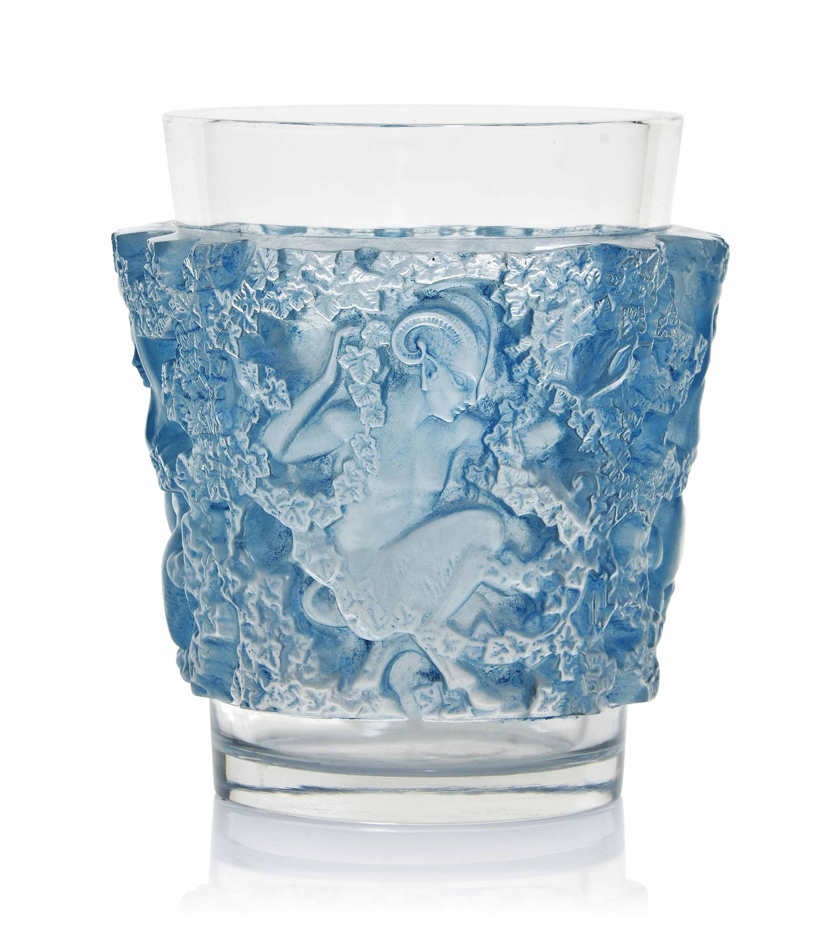 'BACCHUS' A LALIQUE CLEAR AND