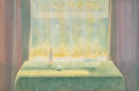 Still life study; and The studio window