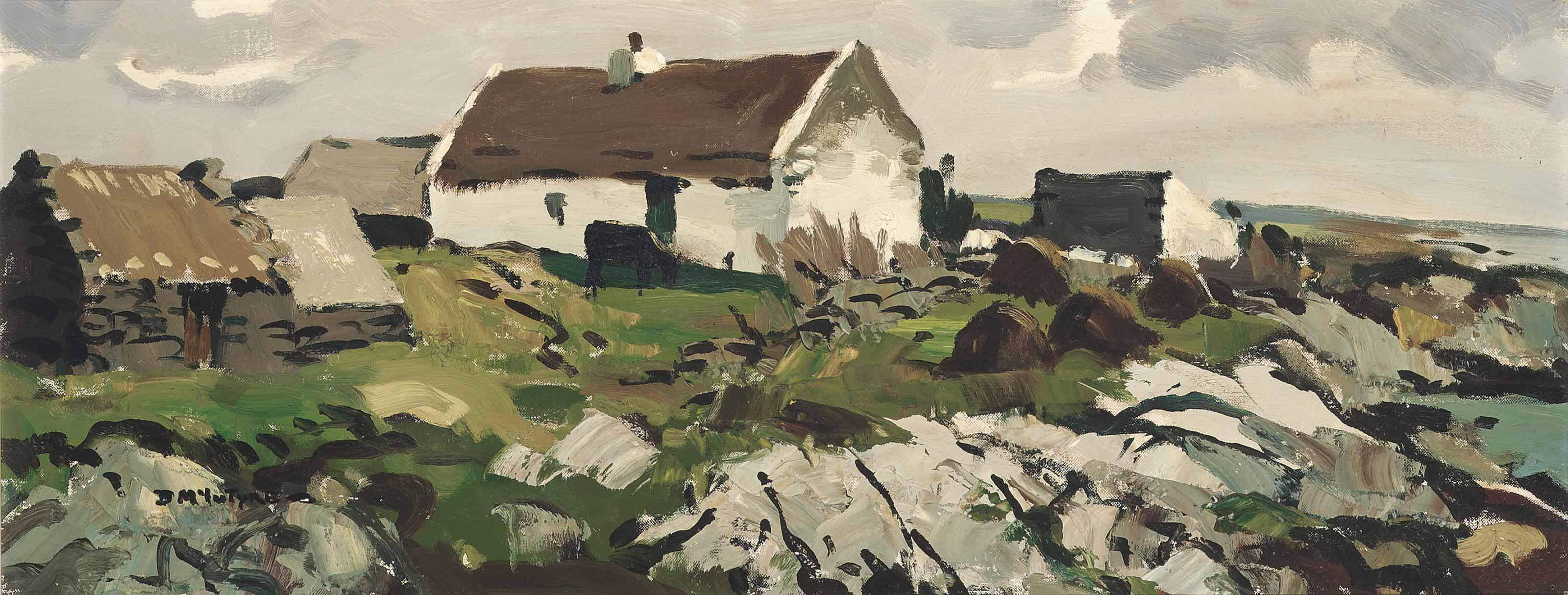 Cottage by the sea, Ballyconneely bay