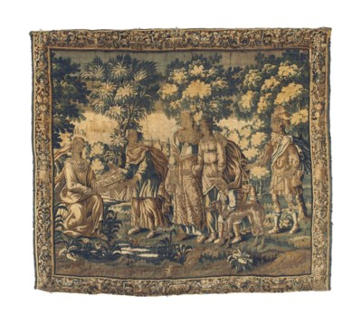 A FLEMISH BIBLICAL TAPESTRY
