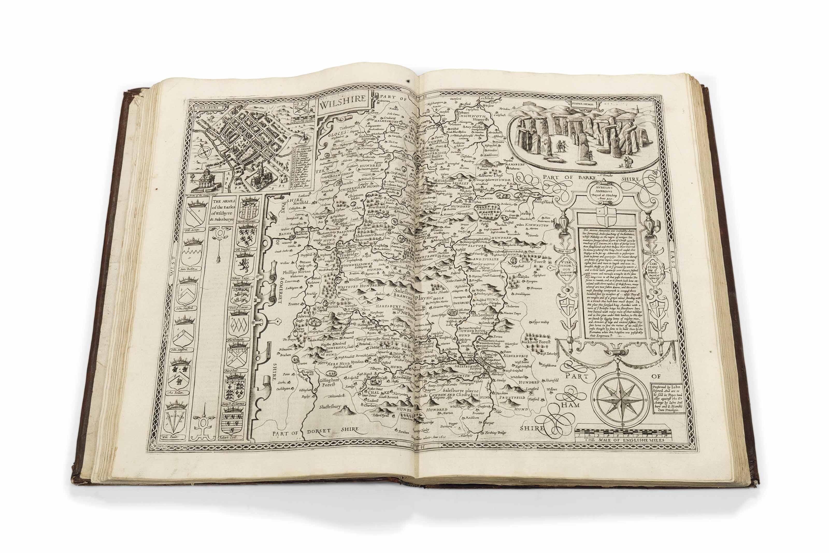 SPEED, John (1552-1629). The T