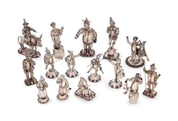 A VARIED GROUP OF FIFTEEN GERM