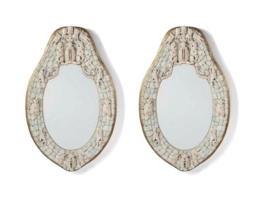 A PAIR OF FRENCH IVORY AND BON