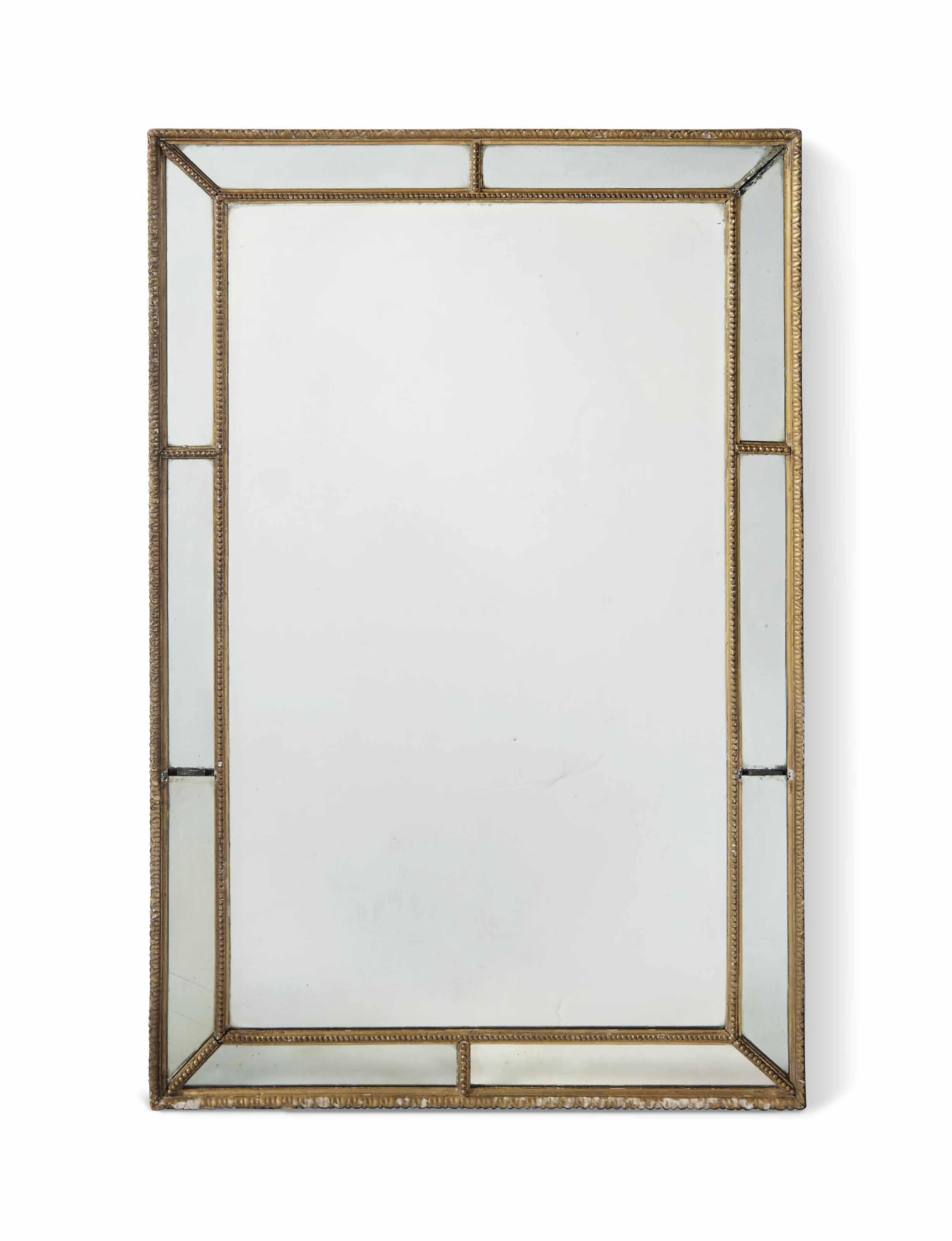 A GILTWOOD RECTANGULAR MARGINA