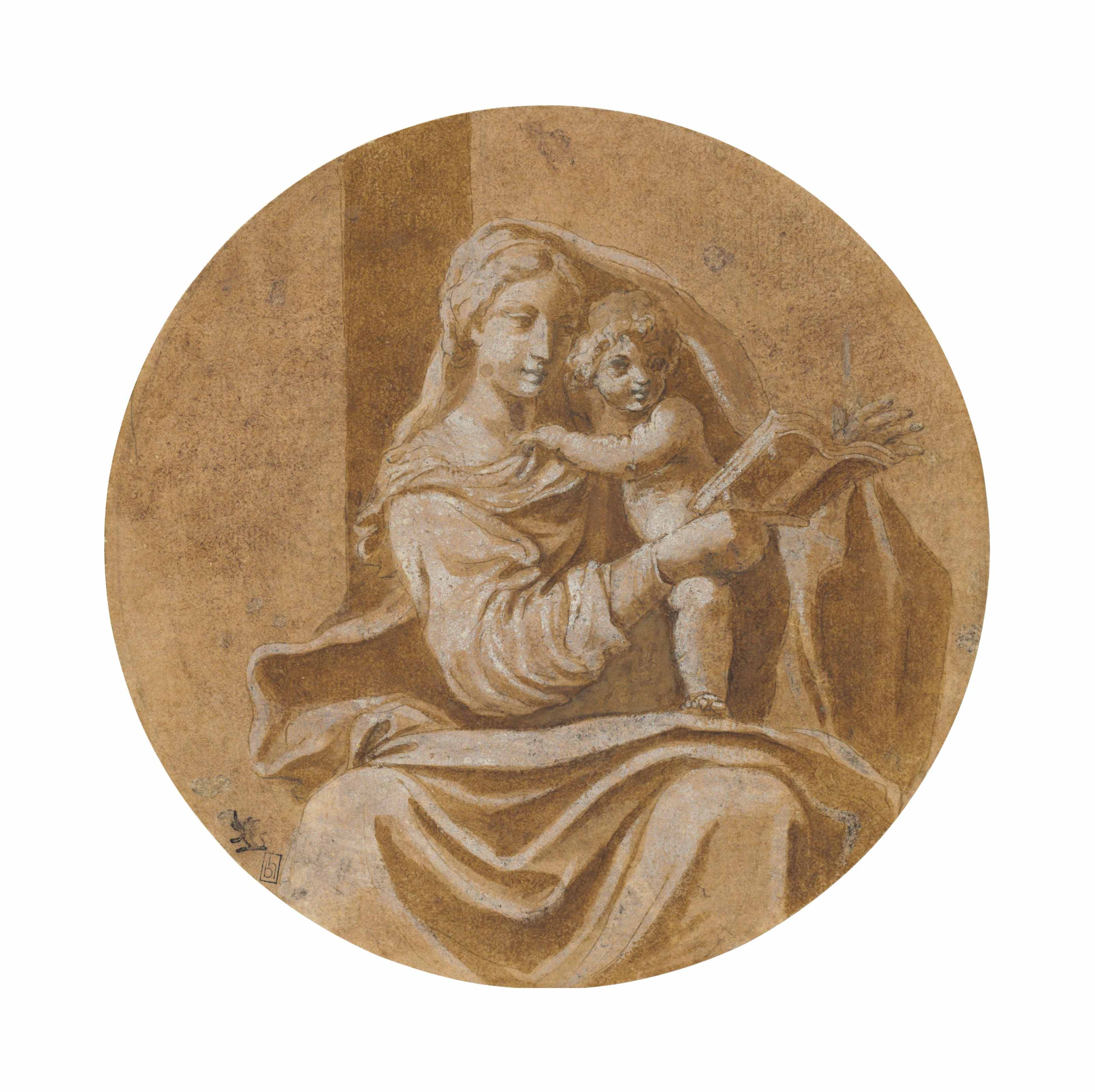 The Virgin reading to the Christ Child