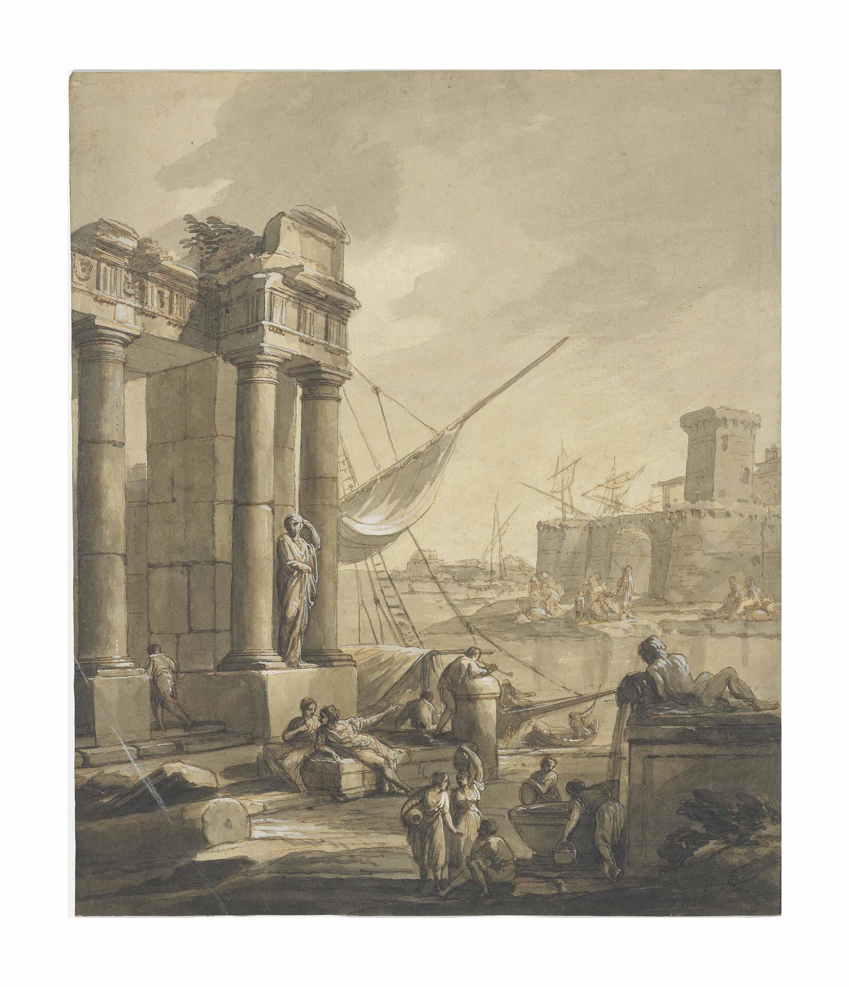 An Italian seaport