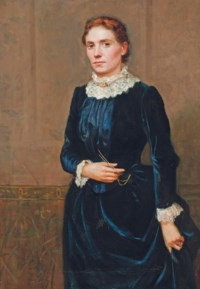 Portrait of the artist's sister, Catherine