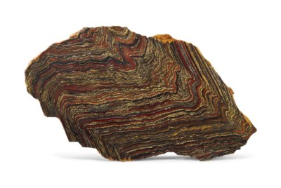 A LARGE SLICE OF TIGER IRON