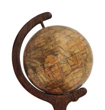 AN EARLY GLOBE OF THE PLANET M